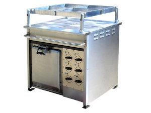 Плита электрическая с жарочным шкафом ПЭЖ-4М